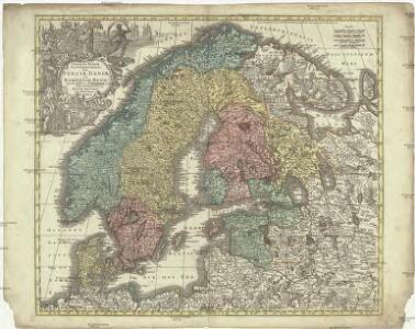 Synopsis plagae septentrionalis sive Sueciae Daniae et Norwegiae regn. accuratissime delineatum