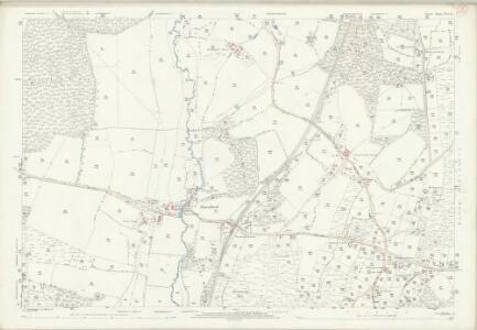 Dorset XVI.15 (includes: Edmondsham; Horton; Verwood; Wimborne St Giles; Woodlands) - 25 Inch Map