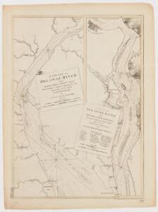 Charts of the coast and harbors of New England : from surveys taken by Saml. Holland Esqr. Survr. Genr. of Lands for the Northern District of North America and Geo. Sproule, Chas. Blaskowitz, Jam.s Grant and Thos. Wheeler his assistants : Delaware River