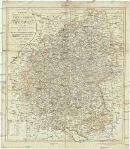 Karte vom Königreich Wirtemberg nebst dem Fürstenthum Hohenzollern-Sigmaringen