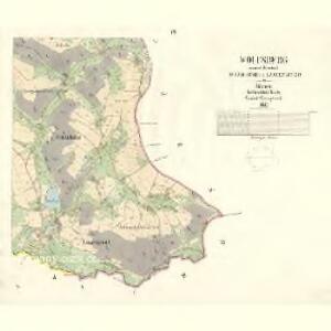 Wolfsberg - c8673-1-005 - Kaiserpflichtexemplar der Landkarten des stabilen Katasters