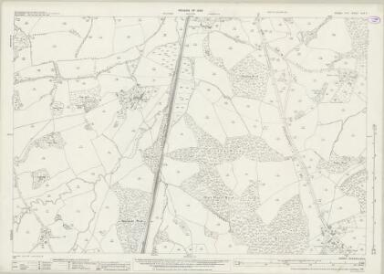 Sussex XLIII.3 (includes: Mountfield; Salehurst) - 25 Inch Map
