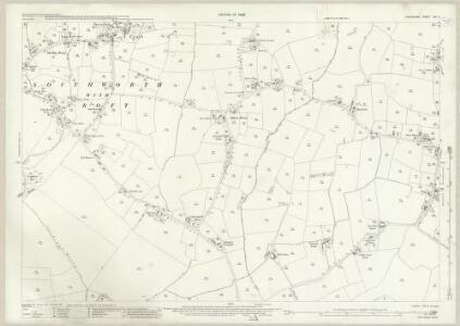 Lancashire CIX.6 (includes: Croft) - 25 Inch Map
