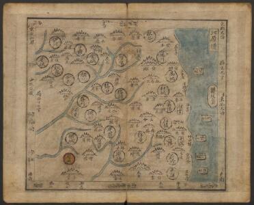 韓國輿地圖:江原道