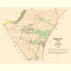 Dörfel (Weska) - m3367-1-002 - Kaiserpflichtexemplar der Landkarten des stabilen Katasters