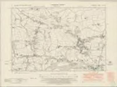 Derbyshire XII.SE - OS Six-Inch Map