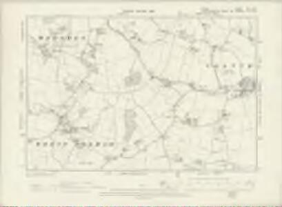 Essex XIII.NW - OS Six-Inch Map