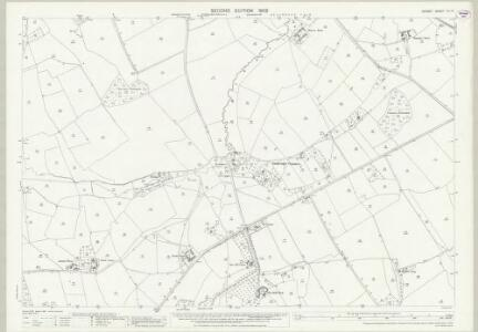 Dorset VII.13 (includes: Stalbridge) - 25 Inch Map
