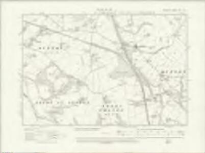 Cheshire XXV.SW - OS Six-Inch Map
