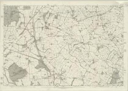 Cheshire XXIII - OS Six-Inch Map