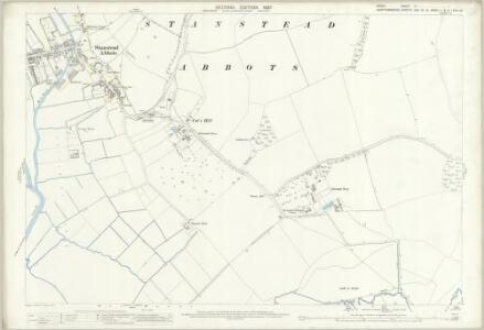 Essex (1st Ed/Rev 1862-96) XL.7 (includes: Stanstead Abbots) - 25 Inch Map