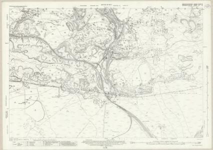 Monmouthshire XI.8 (includes: Aberystruth; Blaenafon; Bryn Mawr; Llanelli) - 25 Inch Map