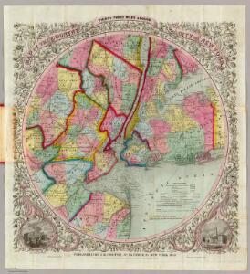 Map ... Around The City Of New York.
