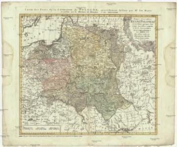 Mappa geographica regni Poloniae