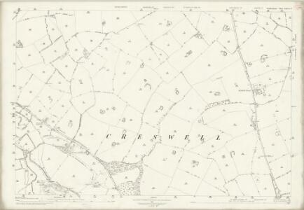 Staffordshire XXXVII.2 (includes: Cresswell; Marston; Seighford; Whitgreave) - 25 Inch Map