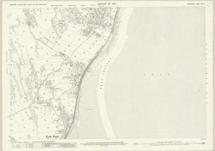 Lancashire XVII.8 (includes: Grange; Lower Allithwaite) - 25 Inch Map
