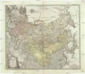 Imperii Russici et Tartariae universae tam majoris et Asiaticae, qvam minoris et Europaeae tabvla