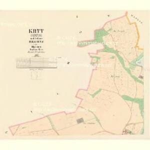 Krtt (Krta) - c3583-1-001 - Kaiserpflichtexemplar der Landkarten des stabilen Katasters