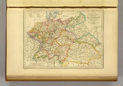l'Allemagne par Cercles in 1789.