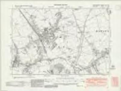 Hertfordshire XLV.NW - OS Six-Inch Map