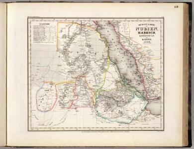 Nubien, Habesch, Kordofan, Darfur.