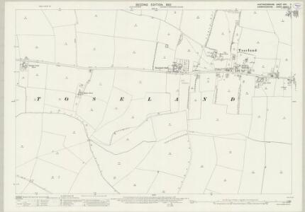 Huntingdonshire XXVI.5 (includes: Great Paxton; St Neots Rural; Toseland) - 25 Inch Map