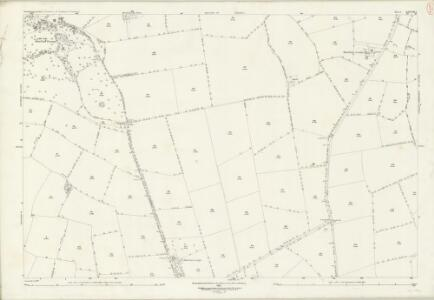 Northamptonshire XXXVIII.6 (includes: Holcot; Moulton; Pitsford) - 25 Inch Map