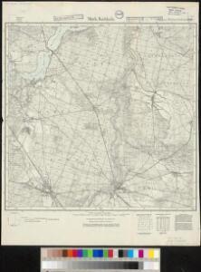 Meßtischblatt 2113 : Märk. Buchholz, 1937