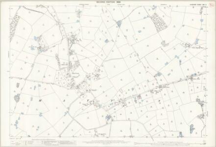 Cheshire XXV.3 (includes: Appleton; Daresbury; Hatton) - 25 Inch Map