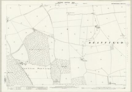 Northamptonshire XVII.5 (includes: Cottingham; East Carlton; Middleton; Wilbarston) - 25 Inch Map