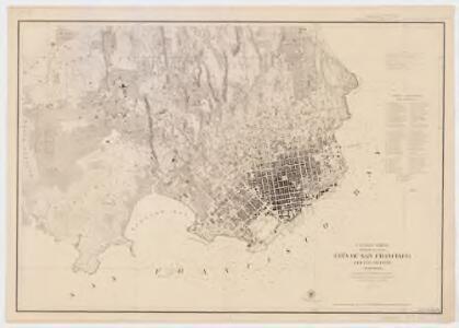 City of San Francisco and its vicinity, California