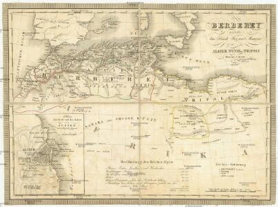 Berberei enthält das Reich Fez und Marocco, Algier, Tunis u. Tripoli