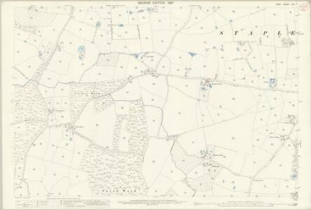 Kent LXII.7 (includes: Marden; Staplehurst) - 25 Inch Map