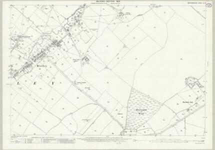 Bedfordshire IV.16 (includes: Bolnhurst and Keysoe; Riseley) - 25 Inch Map