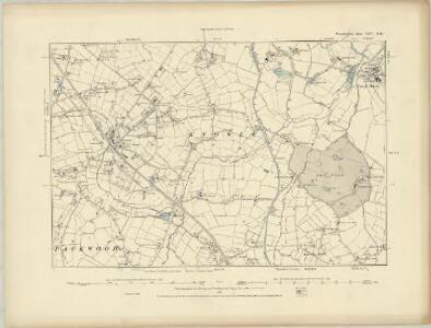 Warwickshire XXV.SE - OS Six-Inch Map