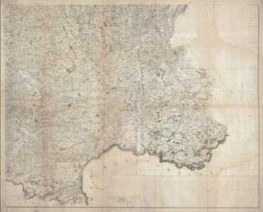 Carte de la France (SE)