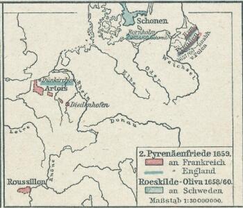 2. Pyrenäenfriede 1659