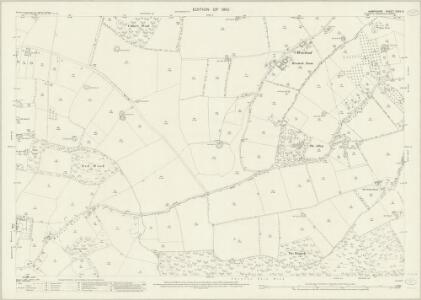 Hampshire and Isle of Wight XXXV.9 (includes: Alton; Bentworth; Chawton; Medstead) - 25 Inch Map