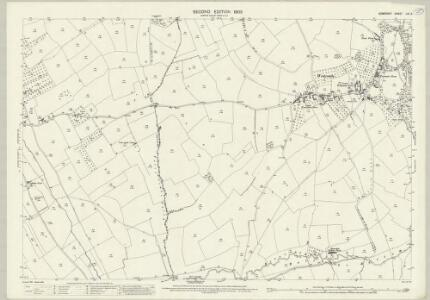 Somerset LIV.6 (includes: Batcombe; Evercreech; Milton Clevedon) - 25 Inch Map
