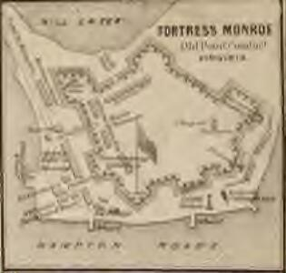 Map of Fortress Monroe