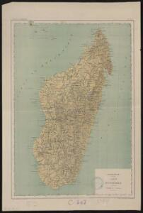 Madagascar, carte d'ensemble