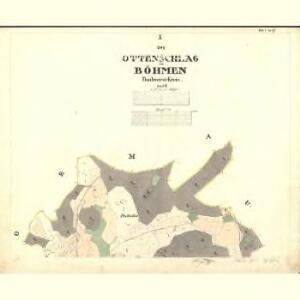 Ottenschlag - c1152-1-001 - Kaiserpflichtexemplar der Landkarten des stabilen Katasters