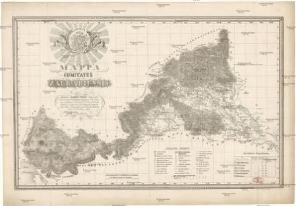Mappa comitatus Zagrabiensis