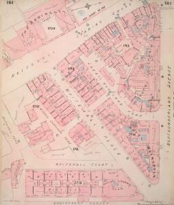 Insurance Plan of London Vol. VIII: sheet 181