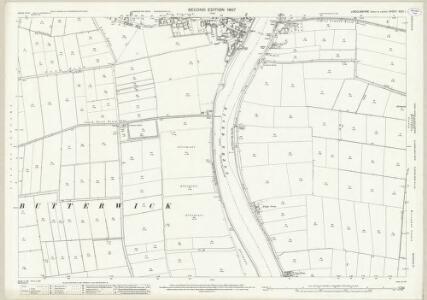 Lincolnshire XXVI.1 (includes: Belton; East Butterwick; Messingham; West Butterwick) - 25 Inch Map