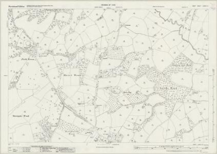 Kent LXXVIII.8 (includes: Sandhurst) - 25 Inch Map