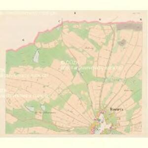 Rossecz - c6534-1-001 - Kaiserpflichtexemplar der Landkarten des stabilen Katasters