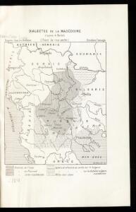 Dialectes de la Macédoine d'après A. Belitch
