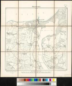 Meßtischblatt 506 : Warnemünde, 1892