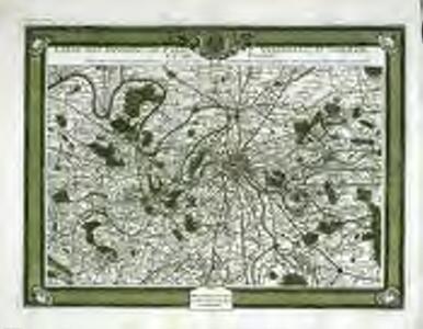 Carte des environs de Paris, Versailles, St. Germain, et de Poissy